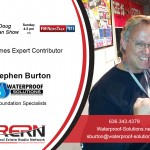 Stephen Burton/ Waterproof Solutions: Brace Yourself For Structural Foundation Issues