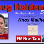 Knox Mailhes/Integrity Land Title: Knox Co-Hosts The Doug Haldeman Show