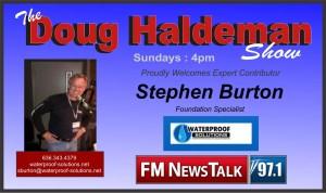 stephen burton show announcement
