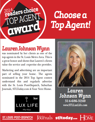 2014 Top Agent Ad for Lauren
