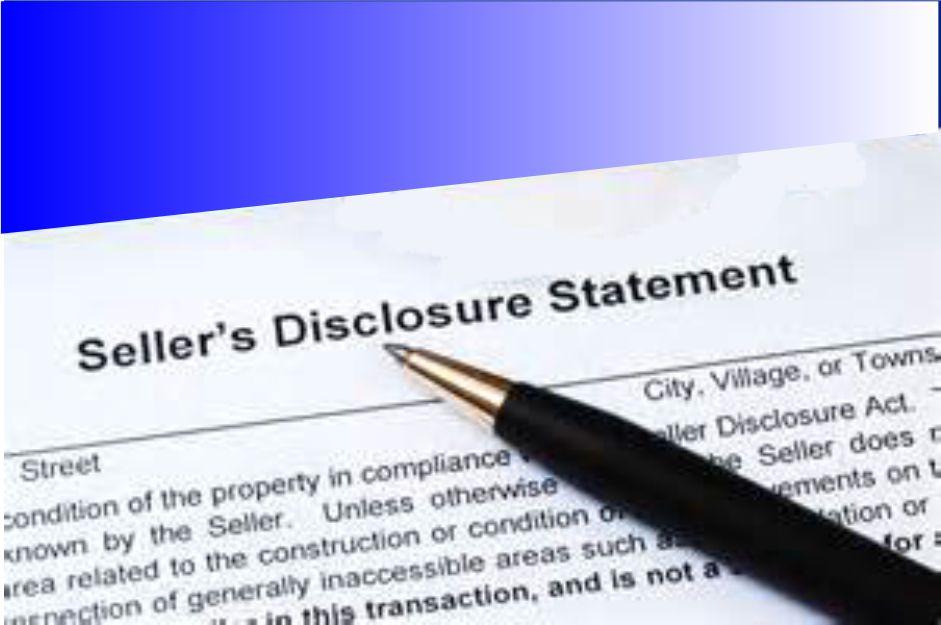 seller-disclosure