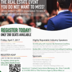 Real Estate Event: April 7th, 2017