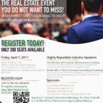 Real Estate Event: April 7th, 2017